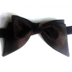 Papion self-tie, negru, model Amazing Shape