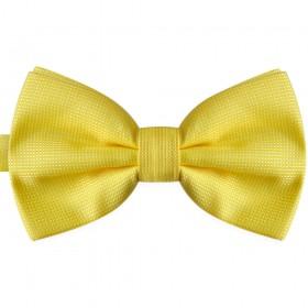 Papion galben, elegant, model Yellow Rose