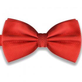 Papion roșu, elegant, model Coral Rose