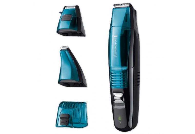 set de tuns barba si mustata remington vacuum beard grooming kit mb6550 negru. Black Bedroom Furniture Sets. Home Design Ideas