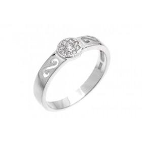 Inel din argint barbati 8101004