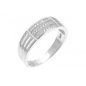 Inel din argint barbati 8101032