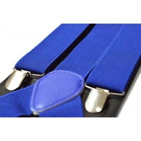 Bretele barbati albastre uni 127