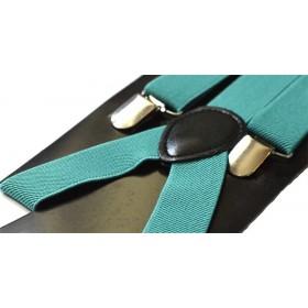 Bretele barbati verde pin