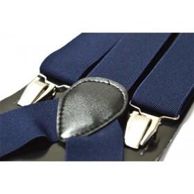 Bretele barbati bleumarin uni 134
