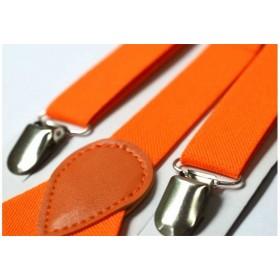 Bretele copii portocalii uni 159