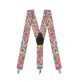 """Bretele copii, """"Floral Multicolor"""""""
