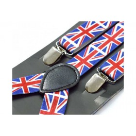 Bretele unisex, model UK Flag 222