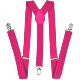 Bretele dama, roz, uni 119