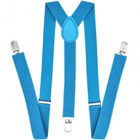 Bretele dama, bleu turcoaz 122