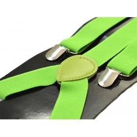 Bretele dama, verde deschis, aprins 325