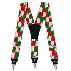 "Bretele pantaloni, model ""Steagul Italiei"""