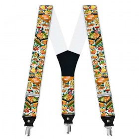 Bretele pantaloni personalizate, master chef
