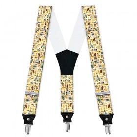 Bretele personalizate, model ustensile bucatarie