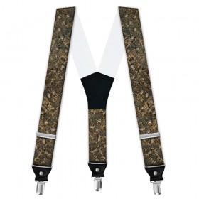 Bretele pantaloni personalizate, vânătoare de rațe, camuflaj