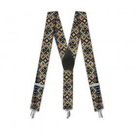 "Bretele pantaloni, moderne, copii, ""Traditional Romanesc"""