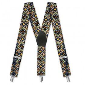 "Bretele pantaloni, moderne, dama, ""Traditional Romanesc"""