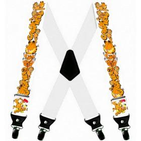 Bretele pantaloni, personalizate Garfield