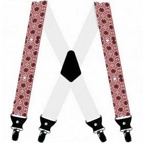 Bretele personalizate, model traditional romanesc