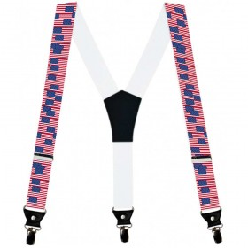 Bretele pantaloni steag America
