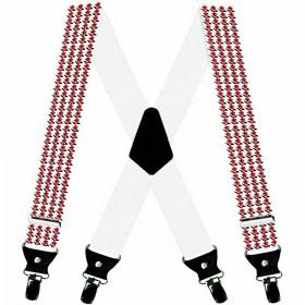 Bretele personalizate la comanda, model floral, traditional