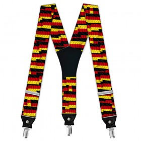 "Bretele pantaloni barbati, model ""Steagul Germaniei"""