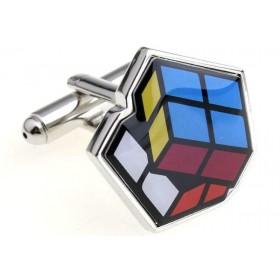 Butoni camasa model cub colorat