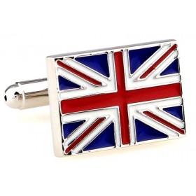 Butoni camasa model steag Marea Britanie