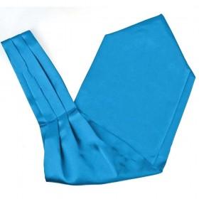 Cravata ascot blue