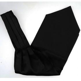 Cravata ascot neagra