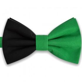Papion bicolor verde - negru