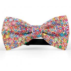 """Papion personalizat cu model """"Floral Multicolor"""""""