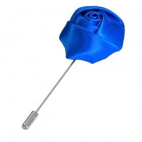 Pin rever sacou, albastru