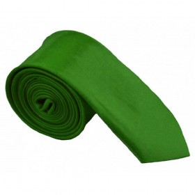 Cravata ingusta, verde