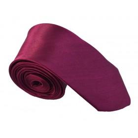 Cravata barbati ingusta violet uni 271