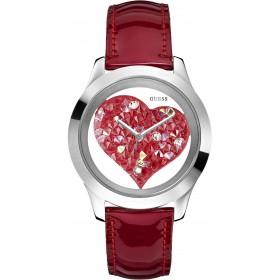 Ceas de dama GUESS CLEARLY HEART W0113L2