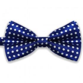 Papion albastru, clasic, model Buline Vesele