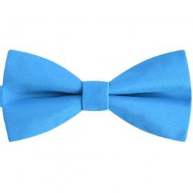 Papion bleu turcoaz, clasic, mat