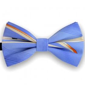 Papion albastru azur, Imprimeu dungi