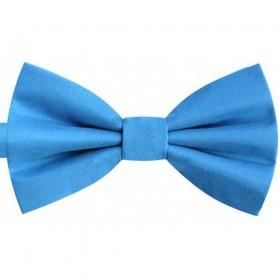 Papion albastru celest regal, azuriu, mat