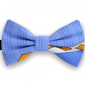 Papion barbati, albastru electric, romburi diverse dimensiuni