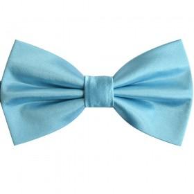 Papion bleu metalic uni, butterfly