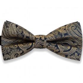 Papion bleumarin, elegant, model crem auriu Luxury Line, clasic
