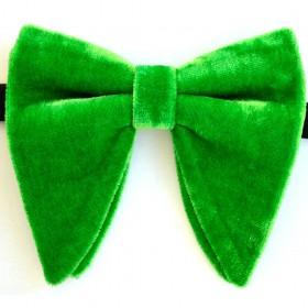 Papion amplu, model Velvet Spell, elegant, verde mar