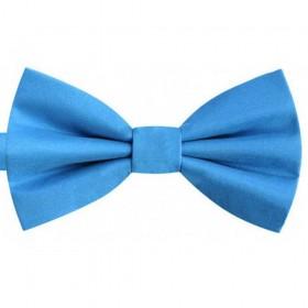 Papion copii albastru electric, butterfly