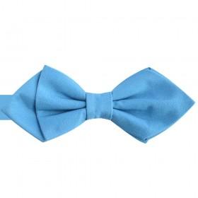 Papion diamant albastru celest regal, azur, mat