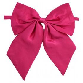 Papion dama roz uni cu bentite late