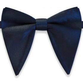 Papion amplu, model French Charm, elegant, bleumarin uni