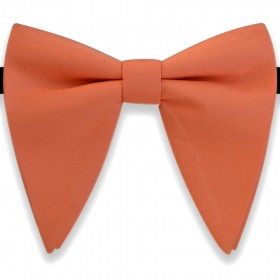 Papion amplu, model French Charm, elegant, portocaliu caisa