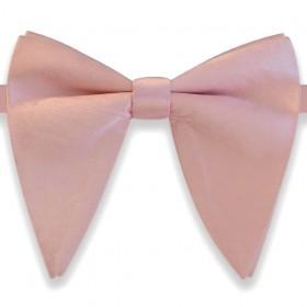 Papion amplu, model French Charm, elegant, roz drajeu